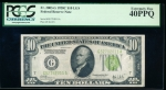 Fr. 2003-G 1928C $10 Federal Reserve Note Chicago LGS PCGS 40PPQ G52792011A