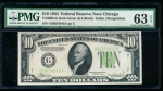 Fr. 2005-G 1934 $10 Federal Reserve Note Chicago PMG 63EPQ G26654845A