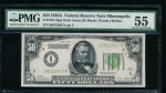 Fr. 2101-I 1928A $50 Federal Reserve Note Minneapolis DGS PMG 55 I00123027A