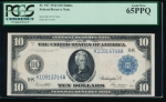 Fr. 947 1914 $10 Federal Reserve Note Dallas PCGS 65PPQ K10914744A