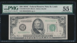 Fr. 2105-H 1934C $50 Federal Reserve Note Saint Louis PMG 55EPQ H02225659A