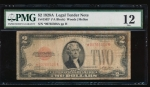 Fr. 1502 1928A $2 Legal Tender *A block PMG 12 *00765506A