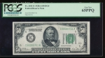 Fr. 2101-E 1928A $50 Federal Reserve Note Richmond PCGS 65PPQ E00586751A