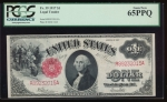 Fr. 39 1917 $1 Legal Tender  PCGS 65PPQ R89232015A
