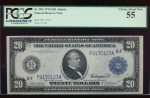 Fr. 986 1914 $20  Federal Reserve Note Atlanta PCGS 55 F9170127A