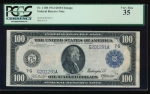 Fr. 1108 1914 $100  Federal Reserve Note Chicago PCGS 35 G201291A