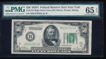 Fr. 2101-B 1928A $50  Federal Reserve Note New York PMG 65EPQ B02187836A
