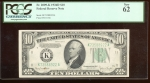 Fr. 2009-K 1934D $10 Federal Reserve Note Dallas PCGS 62 K73588922A